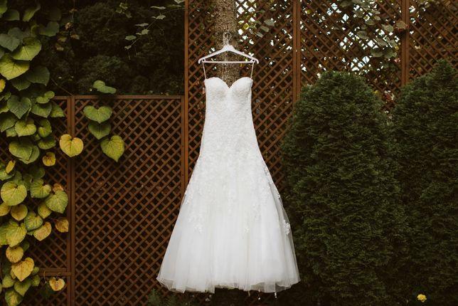 """Suknia ślubna typu """"rybka"""" model Diane Legrand ( DL 6216)"""