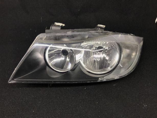 Bmw E90 ліва фара фонарь