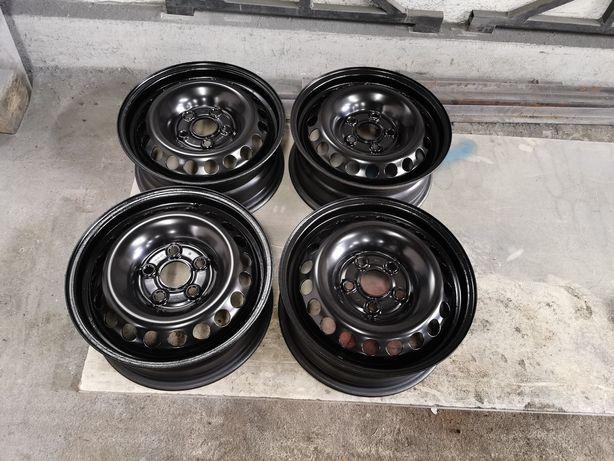 Felgi stalowe stalówki t5 5x120 et 51 odmalowane czarne czarny połysk