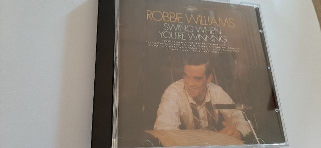 1 CD de Robbie Williams - Swing When You're Winning
