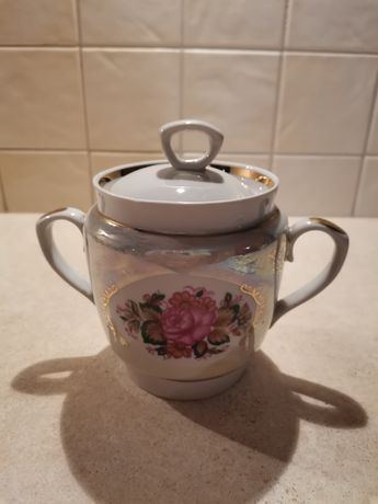 Cukiernica porcelana PRL