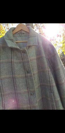 стильное пальто большой размер 62