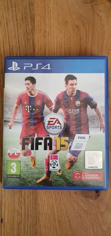 FIFA 15 na PS4 i PS5 bardzo dobry stan nieporysowana