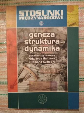 Stosunki międzynarodowe geneza struktura dynamika - Haliżak, Kuźniar