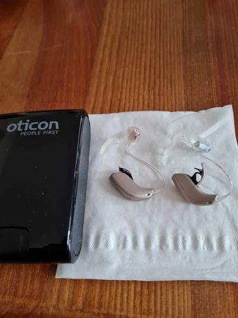 Aparat sluchowy prawy i lewy firm Otikon
