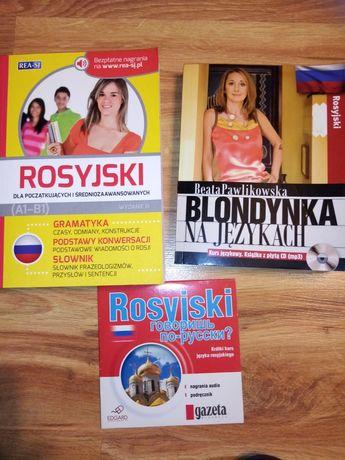 Blondynka na językach rosyjski + podręcznik i płyta