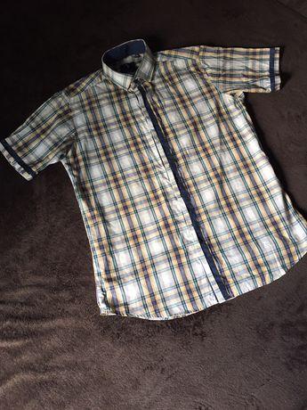 Чоловіча рубашка з коротким рукавом