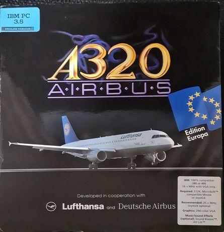 Programa software simulador voo aviao Airbus A320