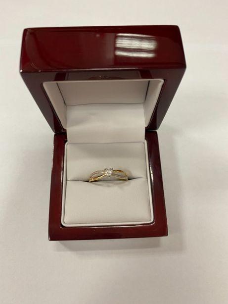 złoty pierścionek p585 1,94g