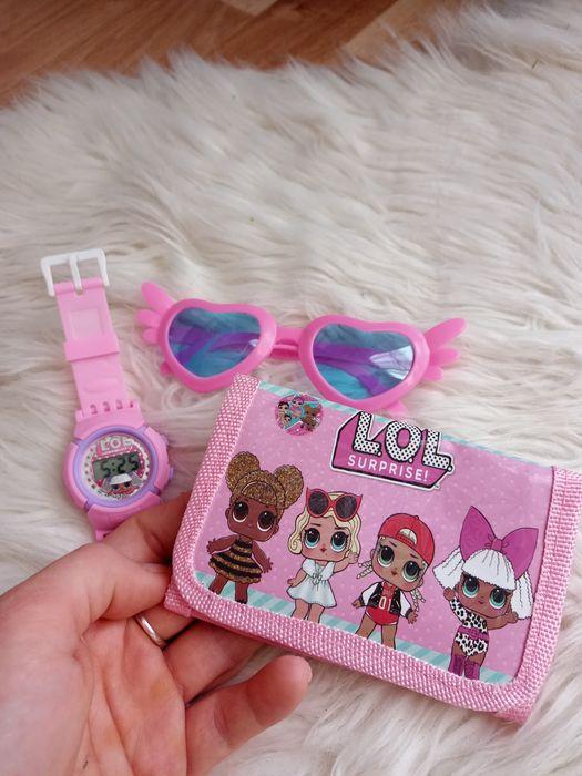 Zestawy LOL Surprise zegarek, portfel, okulary! Gliwice - image 1