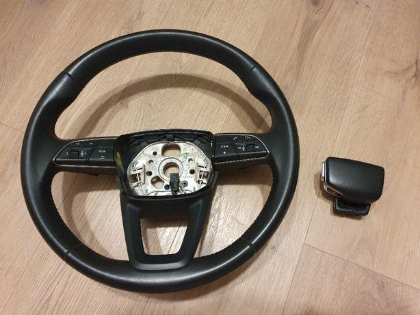 Kierownica z Gałką zmiany biegów OKAZJA AUDI A4,A5,A6, Q5,Q7