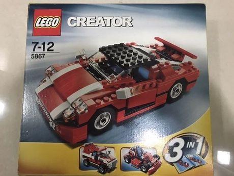 Lego creator 5867 Red Car