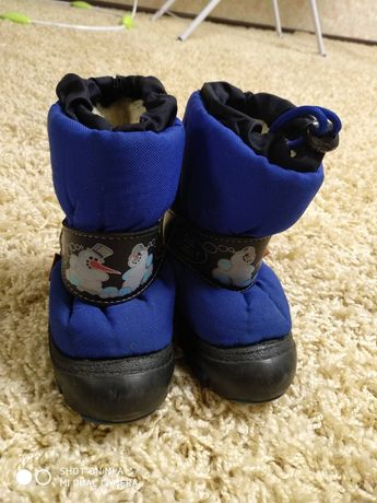 Зимние ботинки демар/demar
