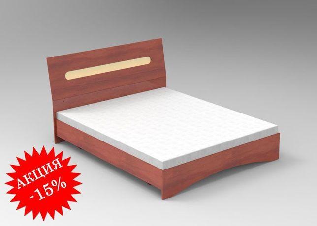 Aкция -15%! Красивая Односпальная Кровать Ліжко Линда 90*200!
