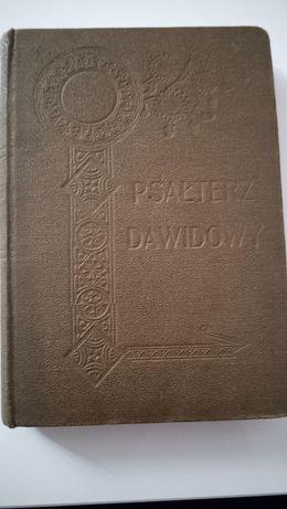 Psałterz Dawidowy 1917 rok