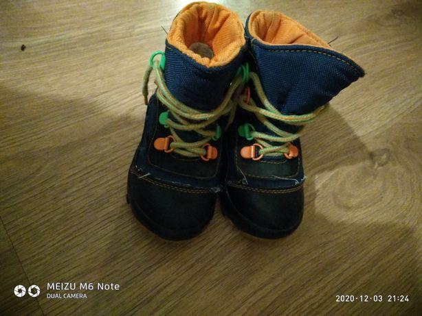 Чобітки дитячі зимові черевики дитяче зимове взуття