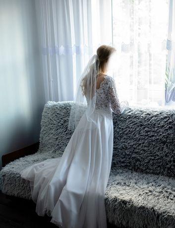 Suknia Ślubna Burgundia