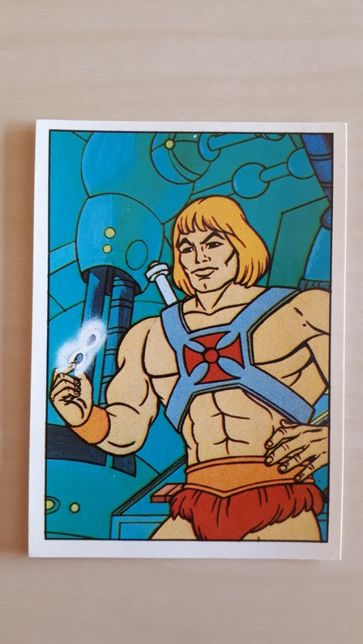 Cromos Panini He-Man and the Masters of the Universe MOTU (1983)