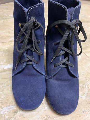 Ботинки зимние цигейка