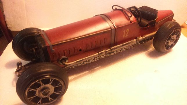 Miniatura Antiga  de Chapa ( Replica ) Alfa Romeo 1:12 Monza