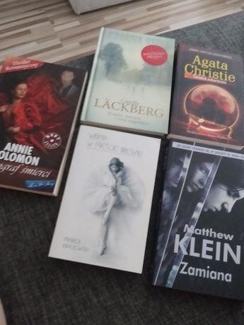 3 zł przesyłka - 5 książek Camilla Lackberg,Agata Chr