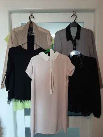 Damskie rozmiar 38-40 sukienka, bluzka, koszula, narzutka
