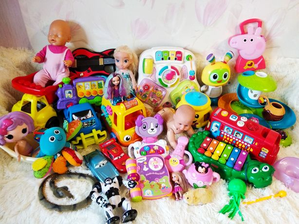 Игрушки Fisher price, Lego, Barbie,Hot Wheels,Zapf Creation,Vtech, ELC