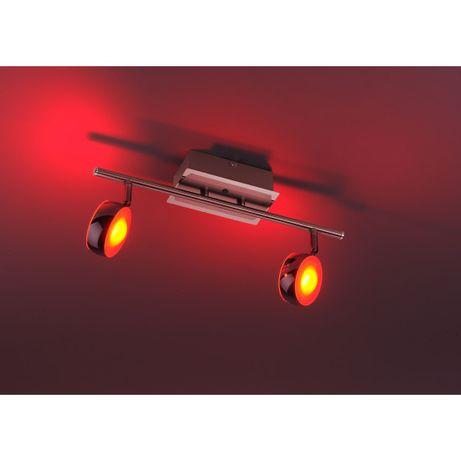 Lampa spot LED LOLA OPTI rgb pilot ciepłe zimne ściemniacz Leuchten D.