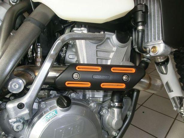 Proteção de Escape / Coletor 4T KTM Yamaha Honda Husqvarna Yamaha etc