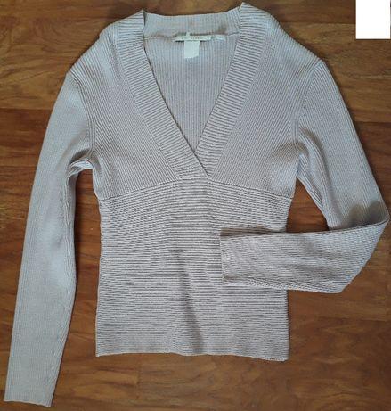 śliczna bluzeczka bluzka sweter sweterek Cote Femme wiskoza 38 / 40
