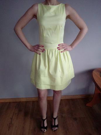 Sukienka żółta