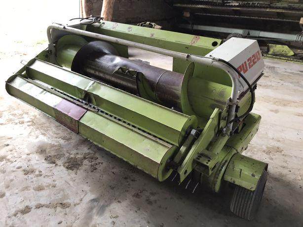 Podbieracz PU 220 Pick Up 220 zielonki trawy przystawka CLAAS JAGUAR