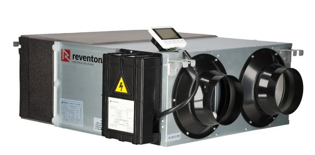 Rekuperator REVENTON Inspiro BASIC 300 m³/h montaż