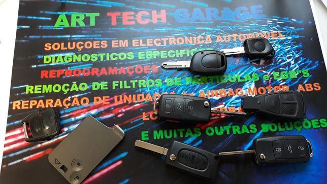 Chaves originais , programação , reparação de remoto / comando