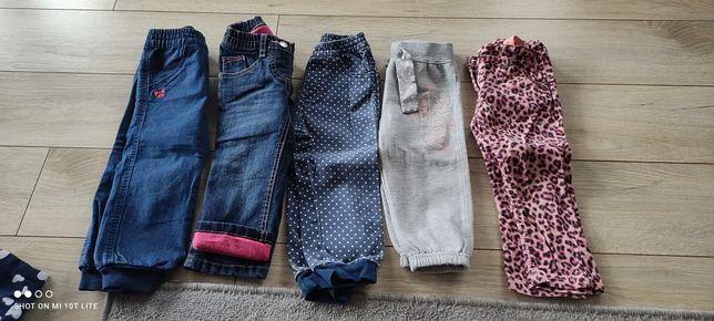 Spodnie 86/92 różne