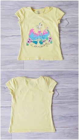 T-shirt Papugi roz. 122