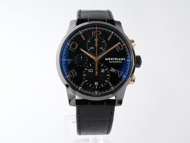Мужские новые часы MontBlanc TimeWalker Chronograph 43 мм