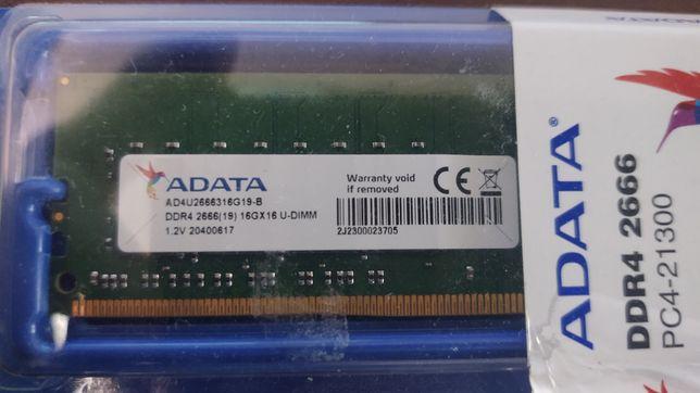 Pamięć ram DDR4 Adata  16GB 2666 pc4-21300