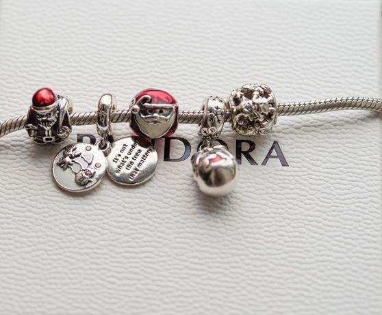 Pandora charms zawieszka Idealne Święta