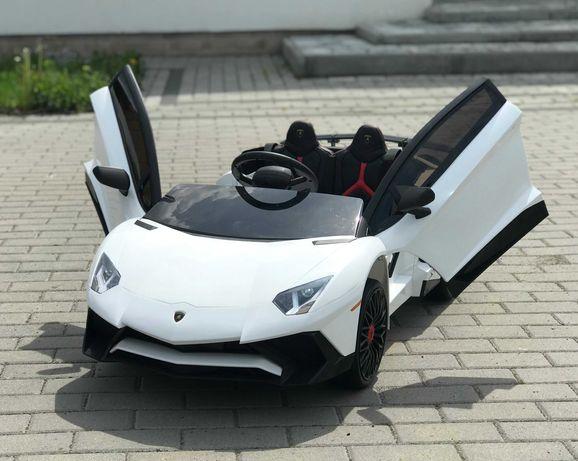 LAMBORGHINI AVENTADOR XL Samochód Auto na akumulator EVA Skóra Pilot