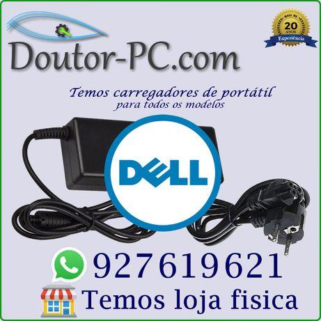 Carregador adaptador Portátil Dell Cabo bateria Transformador 65W 90W