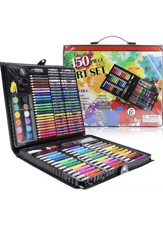 Набір набор чемодан для творчості малювання рисования на 150 предметів