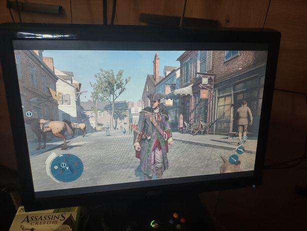 """Zestaw Xbox 360 + monitor 19"""" zamienię na smartfon"""