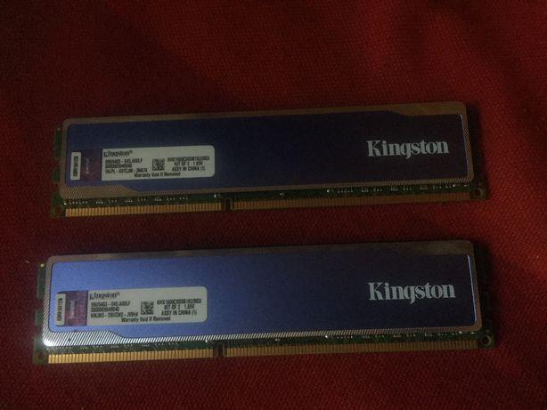 Оперативная памьять Kingston DDR3 4gb