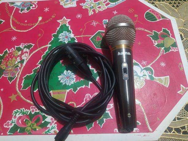 микрофон hama DM-60 dymamic microphone