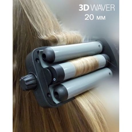 Тройная плойка TICO Professional 3D Waver (100212)