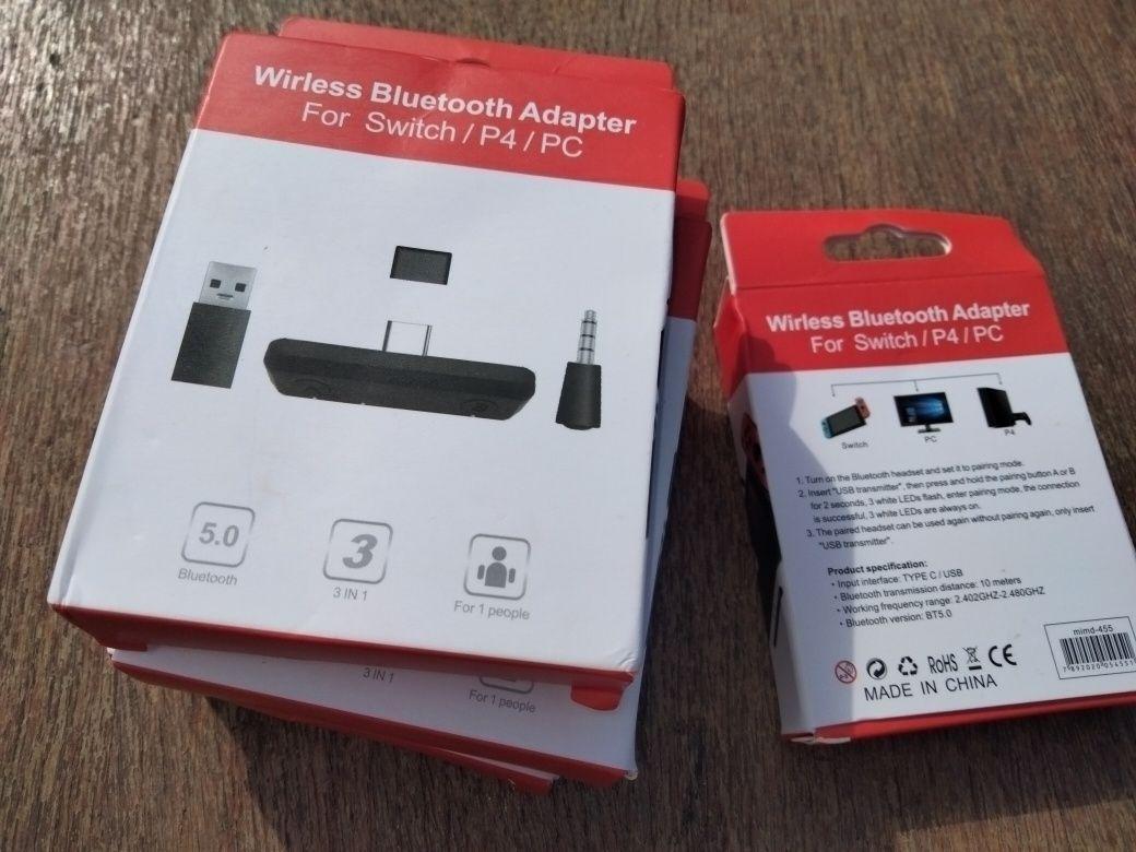 nintendo switch Bluetooth adaptor блютуз адаптер 5.0