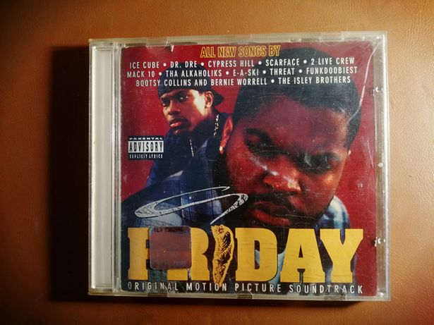 FRIDAY - OST - CD 1995 - Ice Cube, Dre, Cypress Hill
