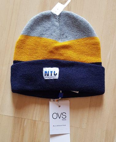 jesienne czapki nowe ovs