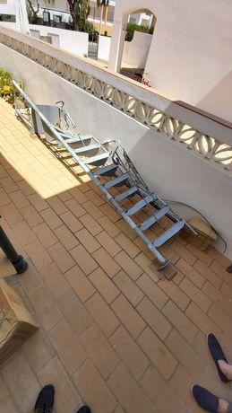 Escadas galvanizadas - Espiral